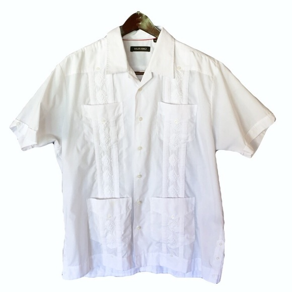 e595000da2 Men s Guayabera Mexican wedding hippy festival